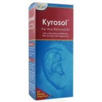 Squip kyrosol ear wax removal system with otoclear kit - 1 ea