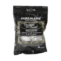 Jakemans Throat and Chest Lozenges, Menthol Sweets - 30 ea, 12 pack