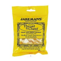 Jakemans Honey and Lemon Menthol Throat Lozenges - 30 ea, 12 pack