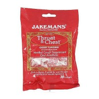 Jakemans Throat and Chest Cherry Flavored Lozenges - 30 ea, 12 pack