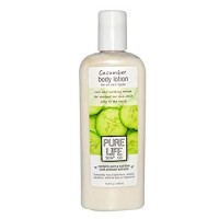 Pure life body lotion, cucumber - 15 oz