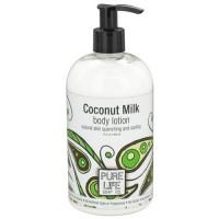 Pure life coconut milk, body lotion - 15 oz
