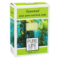 Pure life 100% pure nutritive bar soap, seaweed - 4.4 oz