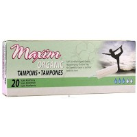 Maxim organic non applicator tampons, Super # 1-133320-1 - 20 ea