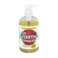 Better Life Go Forth and Conquer Natural Liquid Hand Soap, Clary Sage and Citrus - 12 Oz