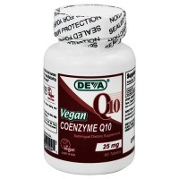 Deva Nutrition Coenzyme 25 mg Q10 Tablets, Vegan - 60 ea