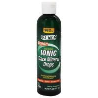 Deva Nutrition Ionic Trace Mineral Drops - 8 oz