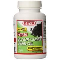 Deva Nutrition Black Cumin Seed Oil Veg Capsules - 90 ea