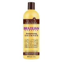 Renpure Originals Brazilian Keratin Hair Straightening Shampoo - 16 oz