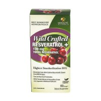 Genceutic Naturals Wild Crafted 100 mg Resveratrol Capsules - 60 ea