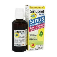 Sinupret Kids Sinus And Immune Support Syrup - 3.38 oz