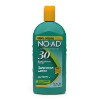 No-Ad Sunblock Lotion, SPF 30 - 16 oz