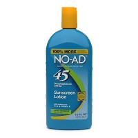 No-Ad Sunblock Lotion SPF 45 - 16 oz