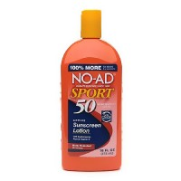 No-Ad Sport Sunblock Lotion, SPF 50 - 16 oz