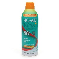 No-Ad kids continuous sunscreen spray spf 50 - 10 oz
