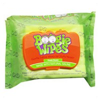 Boogie wipes gentle saline wipes for stuffy noses - 30 ea