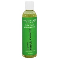 Soothing Touch Bath and Body Massage Oil, Muscle Comfort - 8 oz