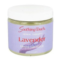 Soothing Touch Herbal Salt Scrub, Lavender - 20 oz