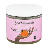 Soothing Touch Brown Sugar Scrub, Vanilla Orange - 16 oz