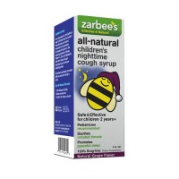 Zarbees all-natural childrens nighttime cough syrup - 4 oz