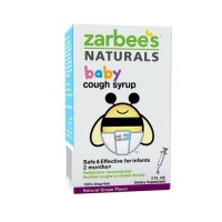 Zarbees baby cough syrup, natural grape flavor - 2 oz