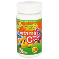 Yum-v vitamin c 60 mg yummy orange jellies - 60 ea