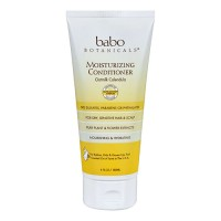 Babo botanicals moisturizing conditioner, oatmilk calendula  -  6 oz