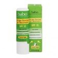 Babo Botanicals Nutri-Soothe Lip Treatment Coconut Apple 15 SPF - 0.15 oz ,12 pack