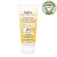 Babo Botanicals Soothing Diaper Cream, For Sensitive Skin - 3 oz
