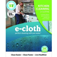 Ecloth kitchen cleaning cloths - 2 ea