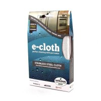 E  Cloth Stainless Steel Microfiber Cleaning Cloths - 2 ea