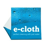E  Cloth Glasses Cleaning Microfiber Cloths, Single - 1 ea