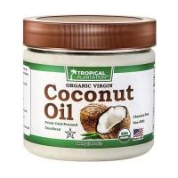 Tropical plantation organic coconut oil pack  - 1 ea