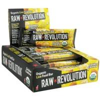 Raw revolution organic live food bar, golden cashew - 1.8 oz, 12 pack