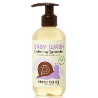 Little Twig Organic Baby Wash, Calming Lavender - 8.5 oz