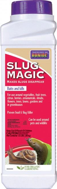 Bonide Products Inc P slug magic slug & snail killer pellets - 24 ounce, 12 ea