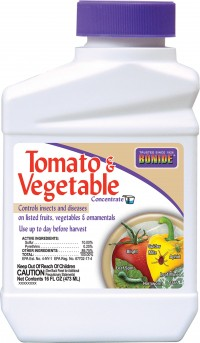 Bonide Products Inc P tomato & vegetable 3-in-1 ready to use - 1 quart, 12 ea