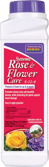 Bonide Products Inc P systemic rose & flower care 8-12-4 - 2 pound, 12 ea