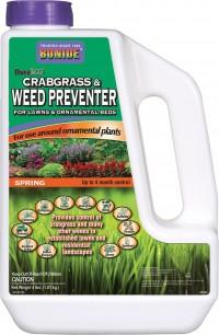 Bonide Fertilizer duraturf crabgrass & weed preventer with dimension - 4 pound, 12 ea