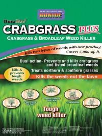 Bonide Fertilizer duraturf crabgrass plus weed killer - 5000 sq. feet, 1 ea