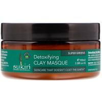 Sukin super greens detoxifying clay   masque  -1 ea
