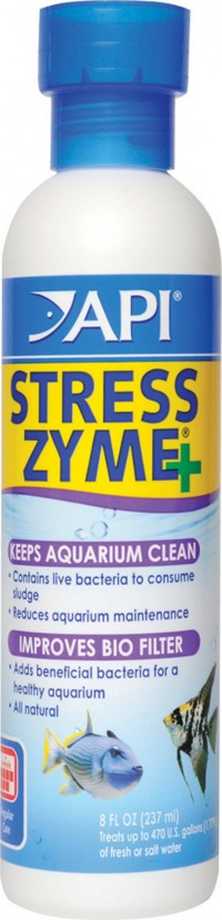 Mars Fishcare North Amer stress zyme - 8 ounce, 12 ea