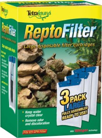 Tetra reptofilter cartridge - large/3 pack, 48 ea