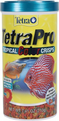 Tetra tetrapro tropical color crisps - 7.41 ounce, 12 ea