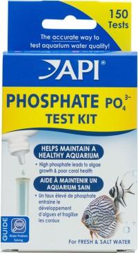 Mars Fishcare North Amer phosphate test kit fresh/salt water - 2x37ml/150tests, 24 ea
