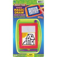 Packet travl game travl  magic draw packet 6.5X12, - 3 ea
