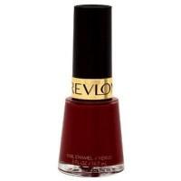 Revlon chip resistant nail enamel, raven red #721 - 2 ea