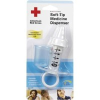 The first years american red cross soft tip medicine dispenser - 1 ea