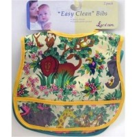 Luv N' Care bib vinyl easy clean - 6 ea