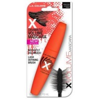 LA colors x volume mascara xtreme black - 3 ea